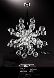 transparent beautiful bubble pendant light parlor large size living room decoration ceiling seeded style bubble lighting fixtures