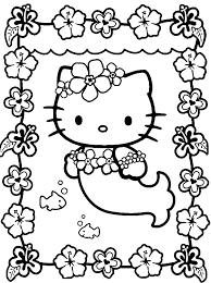 Kleurplaten Hello Kitty Spel