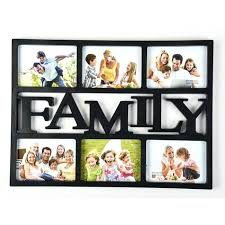 family frame picture photo frame 6 aperture black family family photo frame design app family family frame