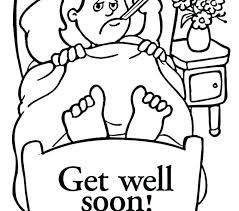 Get Well Soon Coloring Sheets Delightful Ideas Get Well Soon