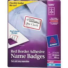 Avery Badge Templates