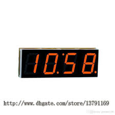 2018 4 digit led diy electronic digtal alarm clock kit module large screen red led practice set from pioneer160 10 25 dhgate com