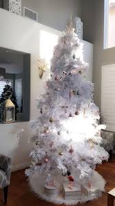 Light Pink And White Christmas Tree White Christmas Tree And Blush Pink Xmas Tree Christmas