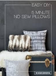 diy teen room decor ideas for girls easy no sew 5 minute diy pillows