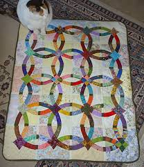 Printable Easy Quilt Patterns | ... evokes a very double wedding ... & Printable Easy Quilt Patterns | ... evokes a very double wedding ring  patterns free Adamdwight.com