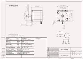 hobbytronics nema 23 stepper motor Nema 5 15 Dimension nema 23 stepper motor