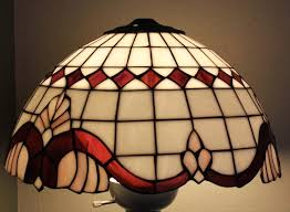 glass lamp shades vintage antique glass lampshade