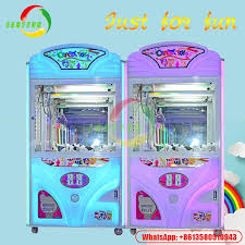 Coin Vending Machine Manufacturers Amazing Malaysia Capsule Crazy Toy 48 Vending Crane Claw Indoor Coin Operated