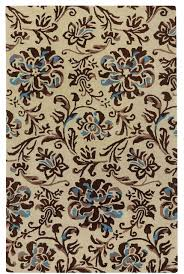 monaco hand tufted rectangle rug light beige river rock contemporary area rugs by capel rugs