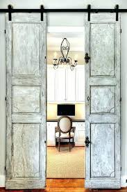 french doors for home office. French Doors Home Office Marvellous Rustic Traditional With Built In Bookshelf Barn . For