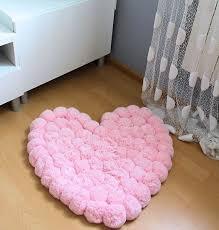 rug for girl bedroom. pom rug - romantic girls room baby shower gift pink for girl bedroom r