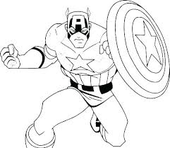 Superhero Color Sheet Superhero Coloring Page Superhero Color Sheets