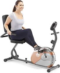 Marcy Recumbent Exercise Bike with Resistance ME ... - Amazon.com