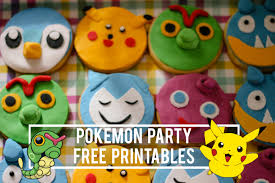 pokemon party printables maxabella loves