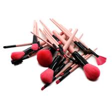 rc cosmetics makeup cotton candy premium 24 pieces brush set
