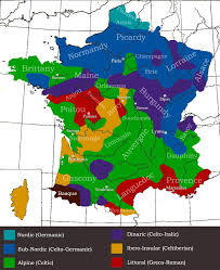 genetic map of france regional differences in people place german germans europe city data forum