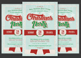 church invitation flyers church christmas party flyer template on behance