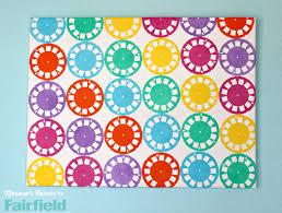 fabric wall art diy on fabric wall art diy with colorful wall art made with oly fun fabric fairfield world blog