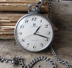 rare vintage swiss made pocket watch tissot stylist chain rare vintage swiss made pocket watch tissot stylist chain men s pocket watch working retro watch mechanical watch old watch collectible