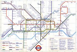 london tube map –   jonathan wynn