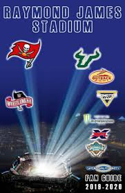Raymond James Stadium Seating Chart Outback Bowl Fan Guide 2019 2010 By Tampa Sports Authority Issuu