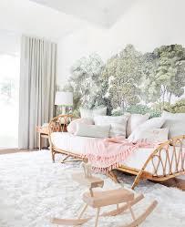 daybed in nursery. Modren Daybed Emily Henderson Nursery Reveal Blush Green Inside Daybed In S