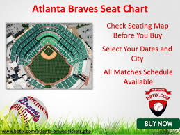 Braves Tickets Seating Chart Atlanta Braves Tickets Atlanta Braves Tickets Promo Code