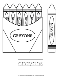 Small Picture Crayola Crayon Names Coloring Page Coloring Page