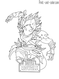 Fortnite Coloring Pages Print And Color Regarding 25 Online