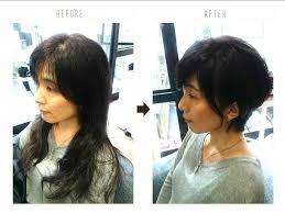 美容師解説くせ毛のショートでも女性らしい40代の髪型について