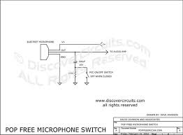 hobby circuit pop microphone on off switch designed by circuit pop microphone switch designed by dave johnson p e feb 15 2002
