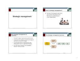 strategic management thesis pdf