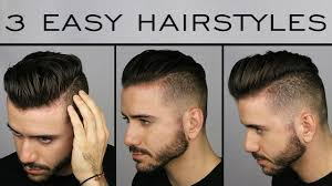 Hairstyle For Male 3 quick & easy mens hairstyles mens hair tutorial alex costa 1017 by stevesalt.us