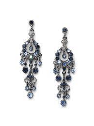 blue chandelier earrings marvelous for inspirational home designing with blue chandelier earrings