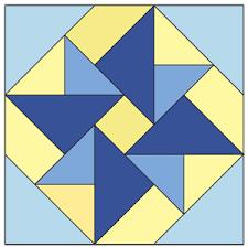 Windmill Block: FREE Patchwork Quilt Block Pattern & Double Windmill Block: FREE Patchwork Quilt Block Pattern Adamdwight.com