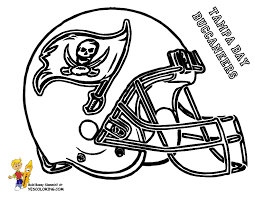 ta bay buccaneers helmet at yescoloring kids football helmets pro south football league teams link for color
