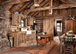 cabin kitchen ideas. Whitefish Montana Private Historic Cabin Remodel Rustic Kitchen Ideas U