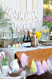 Outdoor Table Decor 18 Easter Brunch Table Decor Decoration Easter Buffet Table
