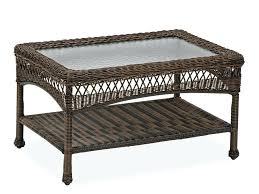 patio coffee table wicker patio coffee table outdoor occasional tables outdoor patio room decorating ideas