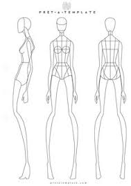 233 Best Fashion Figure Templates Images In 2019 Fashion