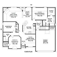 3 bedroom 3 bath house plans or house plan 4 bedroom 2 bathroom unique 3 bedroom