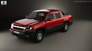360 view of Chevrolet Avalanche 2002 3D model - Hum3D store