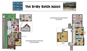 brady bunch house interior pictures. innovation house plans with real pictures of interior 5 the brady bunch floor plan