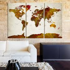 >51246 large wall art push pin world map world map wall art  51246 large wall art push pin world map world map wall art canvas