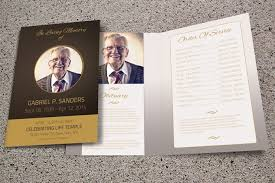 funeral pamphlet 15 modern funeral program templates
