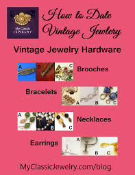 vine jewelry hardware how to date your jewelry based on construction
