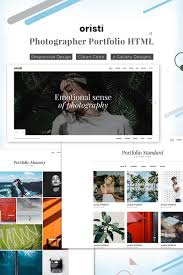Professional Photographer Website Design Website Template 71666 Commercial Photoshoot Photographic