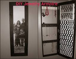 diy jewelry armoire