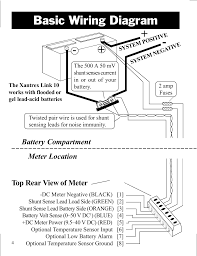 xantrex wiring diagram wiring library basic wiring diagram top rear view of meter battery compartment xantrex technology link