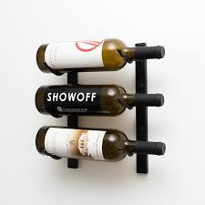 Small wine racks Stackable Wine Ft Wall Series Metal Wine Rack 3 To Bottles Vintageview Wall Series Label Forward Metal Wine Racks Vintageview Wine